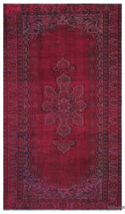 "Over-dyed Turkish Vintage Rug - 5' x 8'8"" (60 in. x 104 in.)"