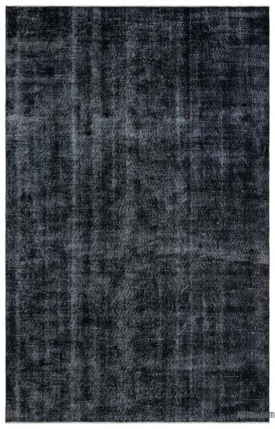 "Over-dyed Turkish Vintage Rug - 6'6"" x 10'3"" (78 in. x 123 in.)"