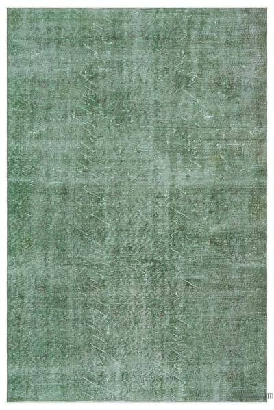 "Over-dyed Turkish Vintage Rug - 5'8"" x 8'7"" (68 in. x 103 in.)"