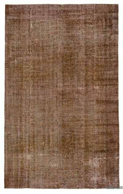"Over-dyed Turkish Vintage Rug - 7' x 11'1"" (84 in. x 133 in.)"