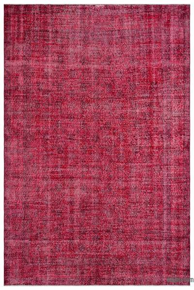 "Over-dyed Turkish Vintage Rug - 6'9"" x 10'2"" (81 in. x 122 in.)"