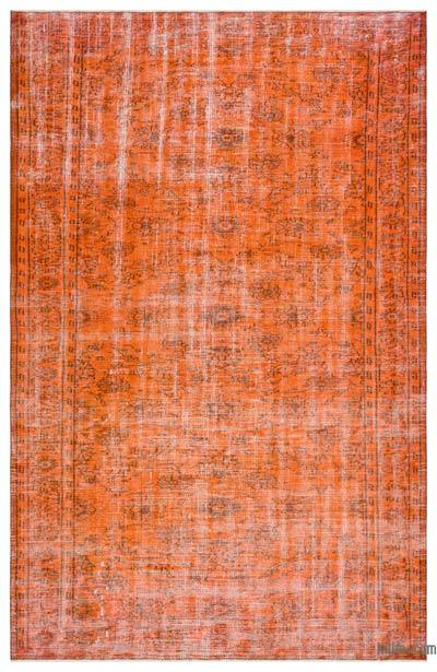 "Over-dyed Turkish Vintage Rug - 5'9"" x 9' (69 in. x 108 in.)"