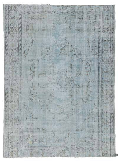 "Over-dyed Turkish Vintage Rug - 6' x 8'2"" (72 in. x 98 in.)"