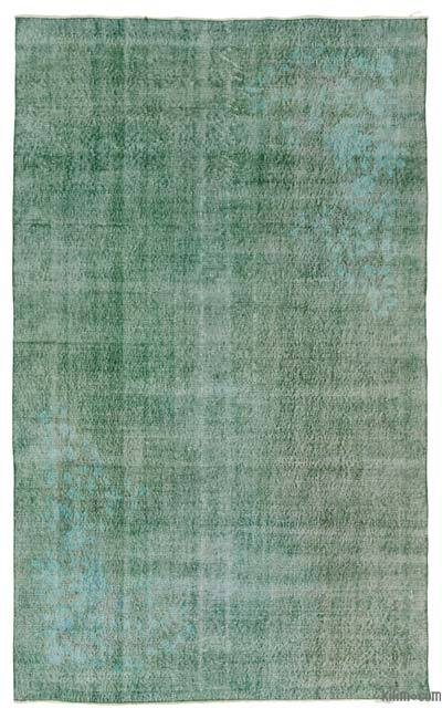 "Over-dyed Turkish Vintage Rug - 5'3"" x 8'7"" (63 in. x 103 in.)"