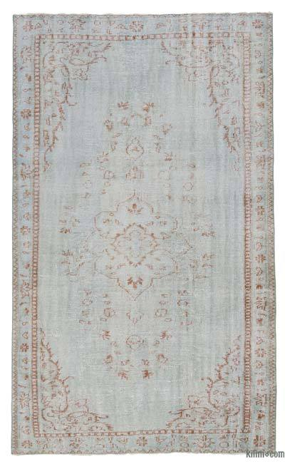 "Over-dyed Turkish Vintage Rug - 5'2"" x 9' (62 in. x 108 in.)"