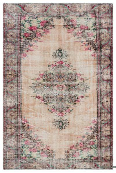 Turkish Vintage Rug - 4'11'' x 7'7'' (59 in. x 91 in.)
