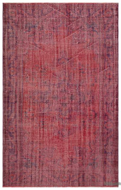 "Over-dyed Turkish Vintage Rug - 6' x 9'6"" (72 in. x 114 in.)"