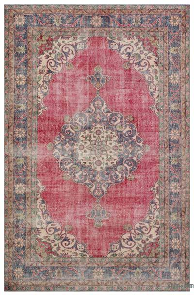 Turkish Vintage Rug - 6'8'' x 10'1'' (80 in. x 121 in.)