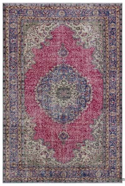 Turkish Vintage Rug - 6' x 9' (72 in. x 108 in.)