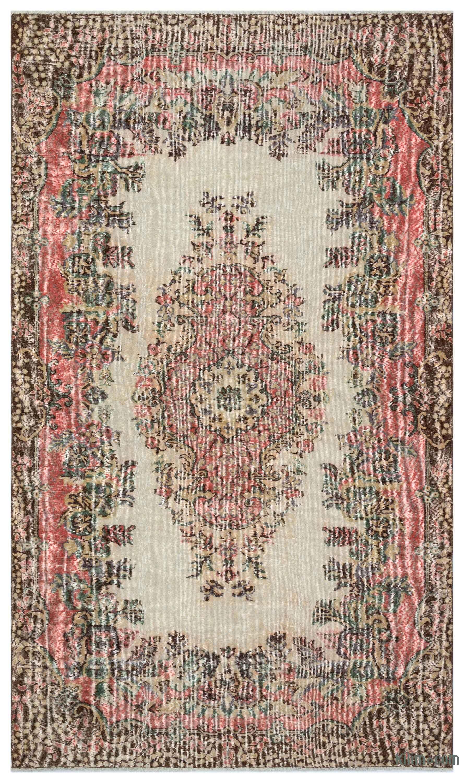 K0035935 Turkish Vintage Area Rug 5 9