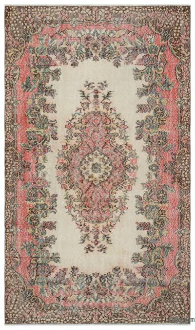Turkish Vintage Rug - 5'9'' x 9'8'' (69 in. x 116 in.)