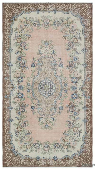 Turkish Vintage Rug - 5'1'' x 9' (61 in. x 108 in.)