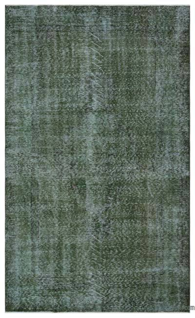 "Over-dyed Turkish Vintage Rug - 5' x 8'4"" (60 in. x 100 in.)"