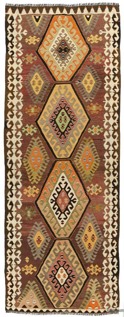 Red Vintage Mut Kilim Runner