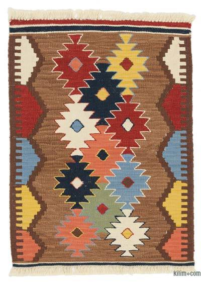 New Turkish Kilim Rug - 2' x 2'9'' (24 in. x 33 in.)