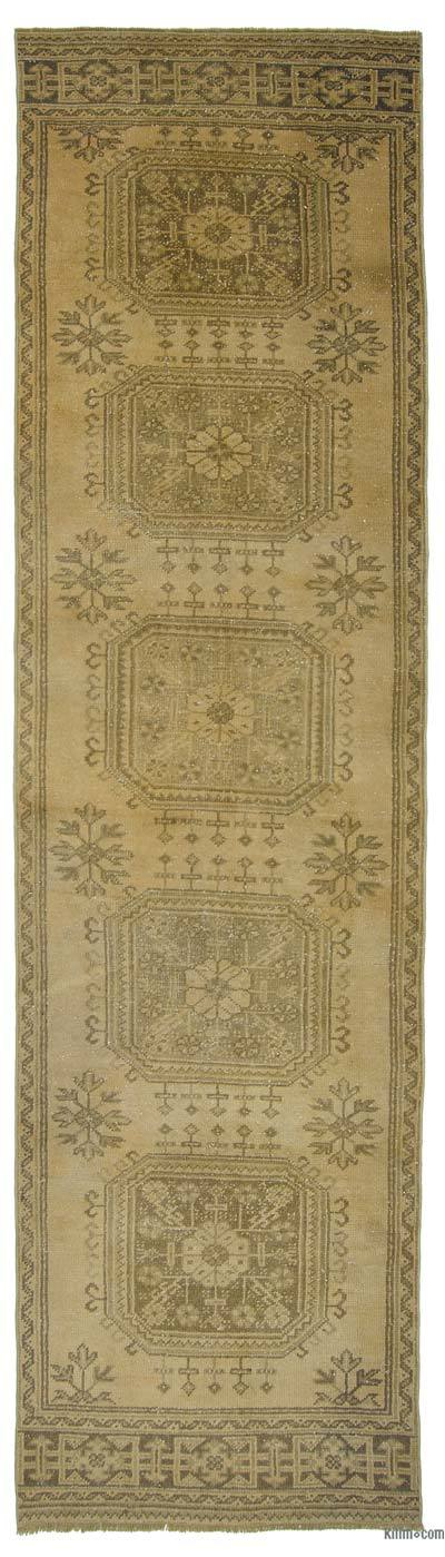 Vintage Turkish Runner Rug