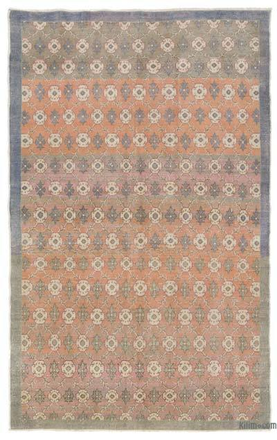 "Turkish Vintage Area Rug - 4'11"" x 8' (59 in. x 96 in.)"