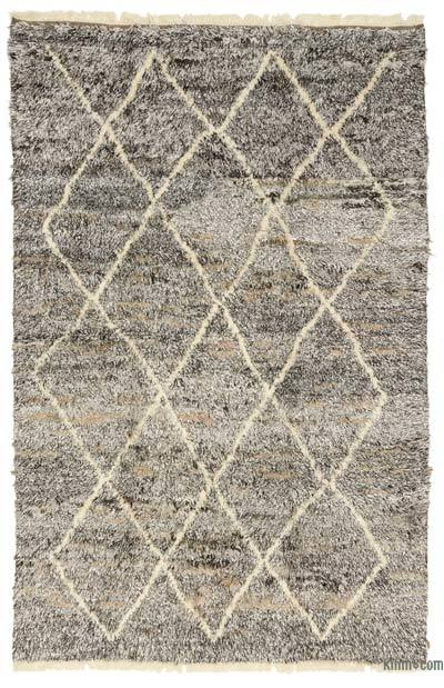 "New Turkish Tulu Rug - 6'2"" x 9'5"" (74 in. x 113 in.)"