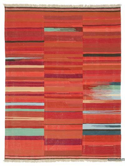 "New Handwoven Turkish Kilim Rug - 7'7"" x 9'10"" (91 in. x 118 in.)"