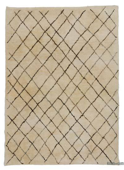 Beige New Turkish Tulu Rug