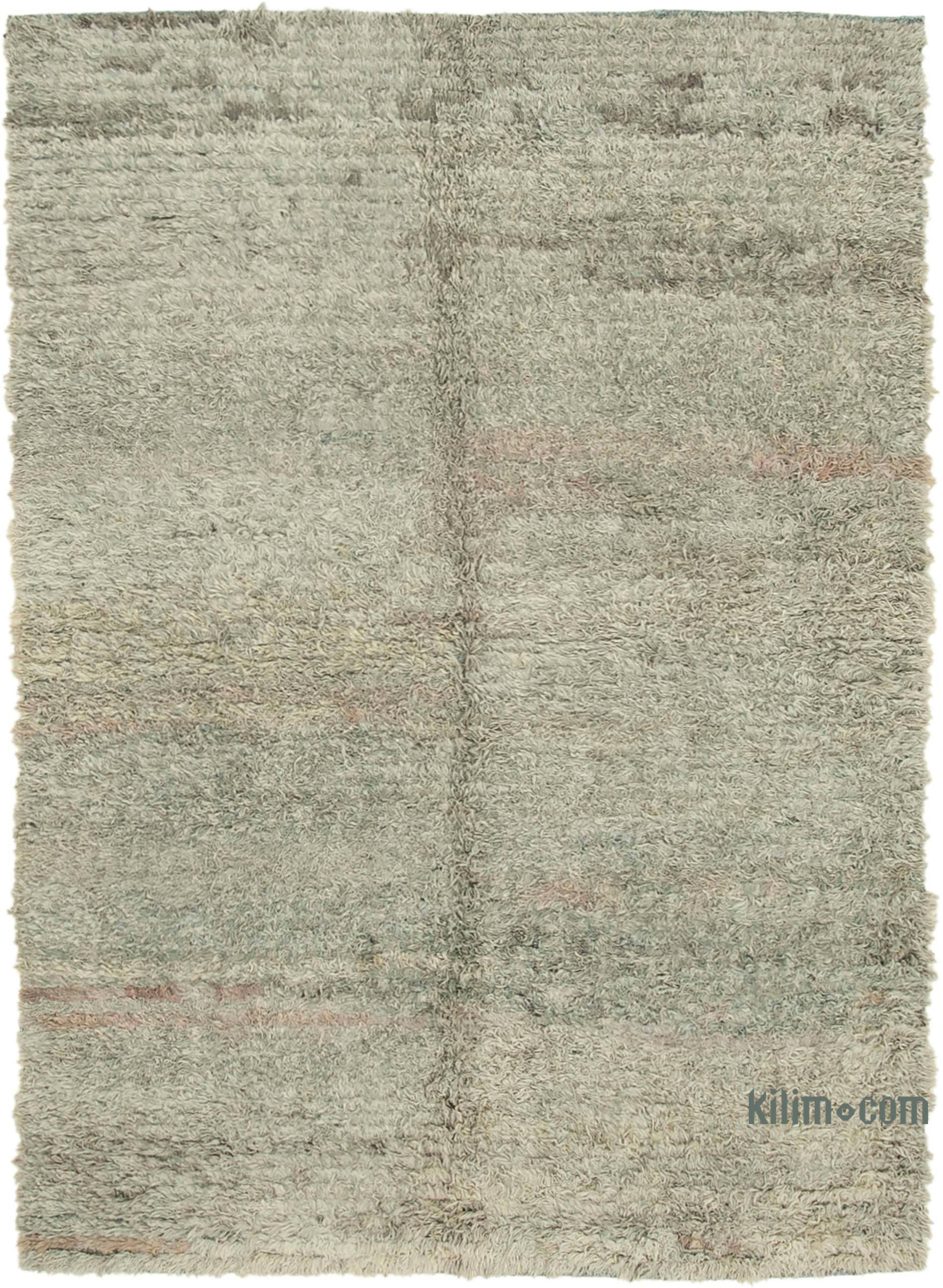 Contemporary Hand-Knotted Wool Rug