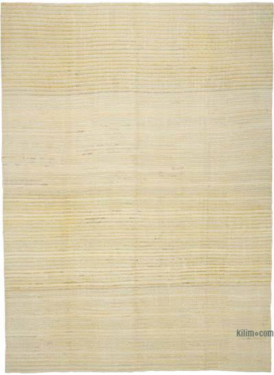 New Contemporary Hand-Woven Wool Rug