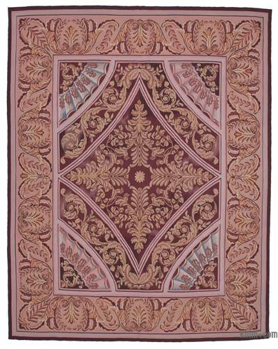 "Aubusson Rug - 8'9"" x 11'2"" (105 in. x 134 in.)"