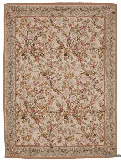 "Aubusson Rug - 8'9"" x 12' (105 in. x 144 in.)"