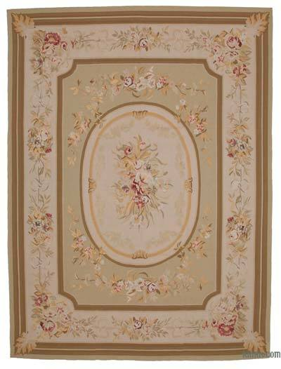 "Aubusson Rug - 8'11"" x 11'11"" (107 in. x 143 in.)"