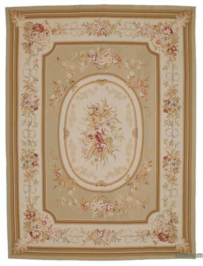 Aubusson Rug - 8'11'' x 11'11'' (107 in. x 143 in.)