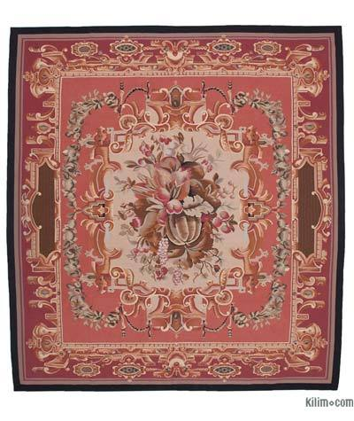Aubusson Rug - 10' x 11' (120 in. x 132 in.)