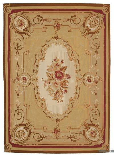Aubusson Rug - 8'6'' x 12'1'' (102 in. x 145 in.)