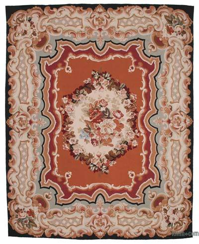 "Aubusson Rug - 9'6"" x 12'1"" (114 in. x 145 in.)"