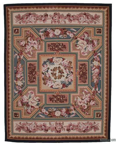 "Aubusson Rug - 9'3"" x 11'11"" (111 in. x 143 in.)"