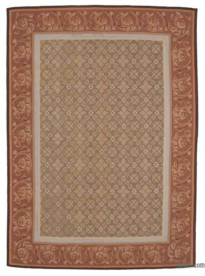 Aubusson Rug - 8'7'' x 11'11'' (103 in. x 143 in.)