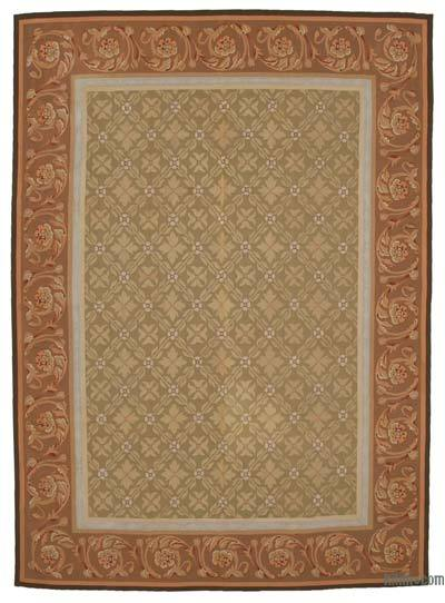 "Aubusson Rug - 8'7"" x 11'11"" (103 in. x 143 in.)"