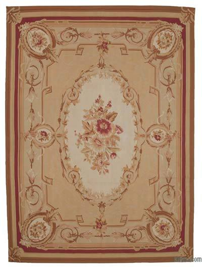"Aubusson Rug - 8'10"" x 12' (106 in. x 144 in.)"