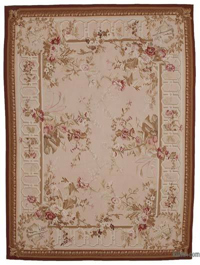 Aubusson Rug - 8'10'' x 12' (106 in. x 144 in.)