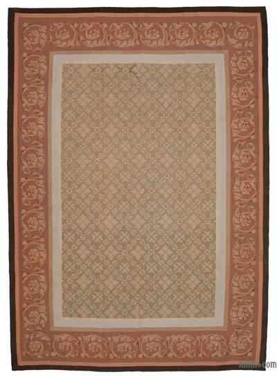 Aubusson Rug - 9'8'' x 13'8'' (116 in. x 164 in.)