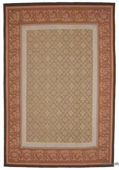 Aubusson Rug - 9'5'' x 14' (113 in. x 168 in.)