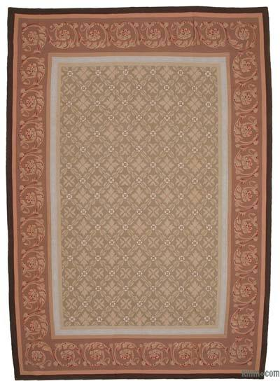 Aubusson Rug - 9'8'' x 13'10'' (116 in. x 166 in.)