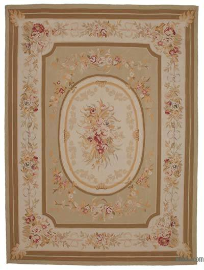 "Aubusson Rug - 8'11"" x 12' (107 in. x 144 in.)"