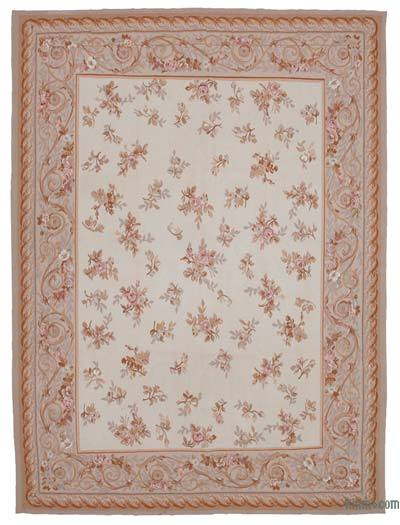 "Aubusson Rug - 8'8"" x 11'7"" (104 in. x 139 in.)"