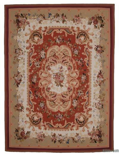 Aubusson Rug - 9' x 11'11'' (108 in. x 143 in.)
