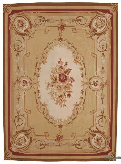 Aubusson Rug - 8'8'' x 12' (104 in. x 144 in.)
