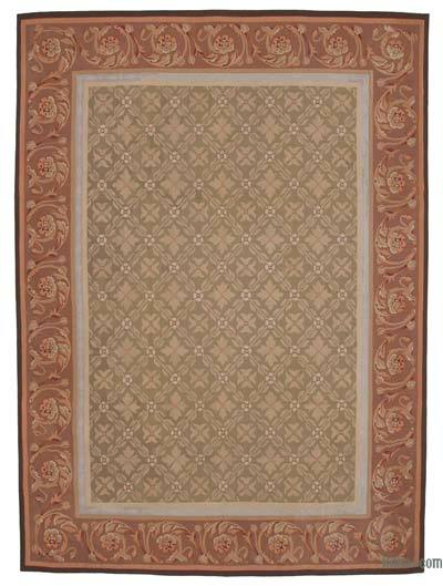 Aubusson Rug - 8'8'' x 11'10'' (104 in. x 142 in.)