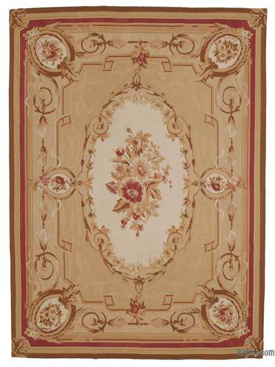 Aubusson Rug - 8'8'' x 11'11'' (104 in. x 143 in.)