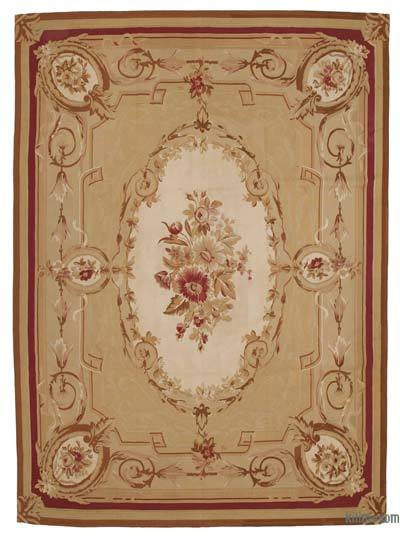 "Aubusson Rug - 8'7"" x 11'9"" (103 in. x 141 in.)"