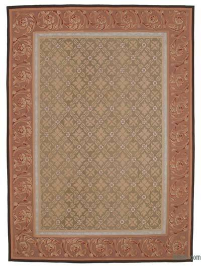 Aubusson Rug - 8'9'' x 11'11'' (105 in. x 143 in.)