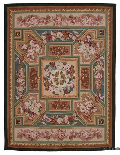 "Aubusson Rug - 9'2"" x 12'1"" (110 in. x 145 in.)"